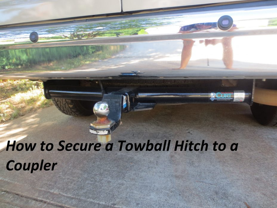 How to Secure a Towball Hitch to a Coupler