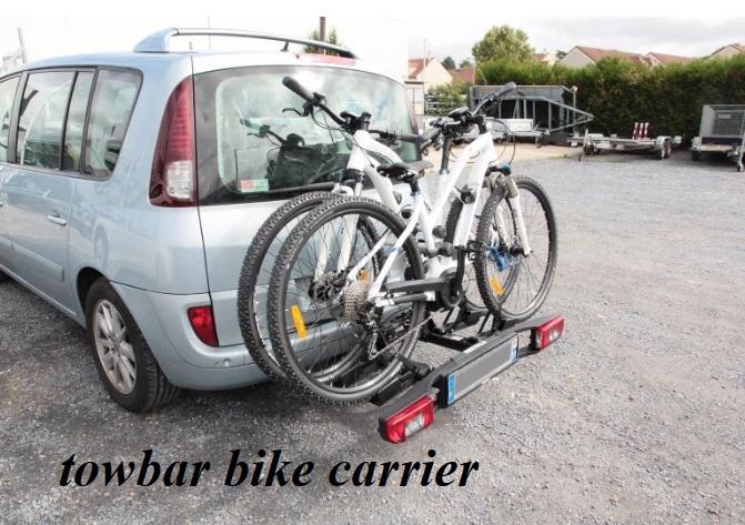 towbar bike carrier